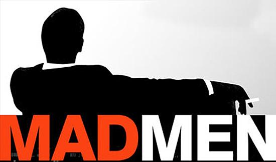 mad men typography