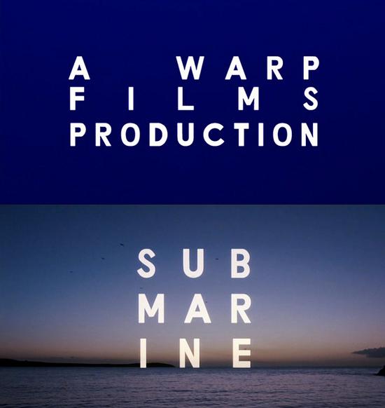 submarine film intertitles typography