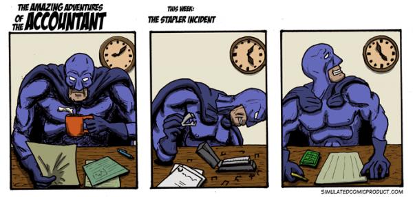 The Stapler Incident