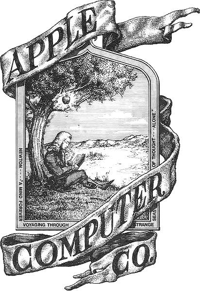 First Apple logo