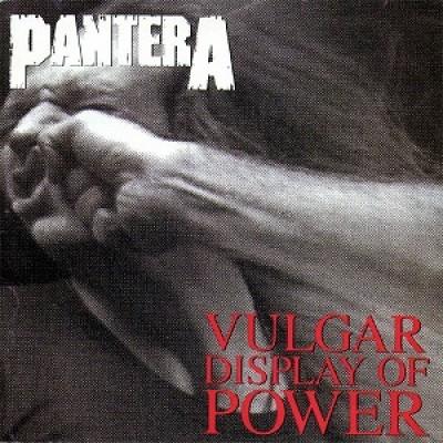 Pantera Vulgar Display of Power Album Cover