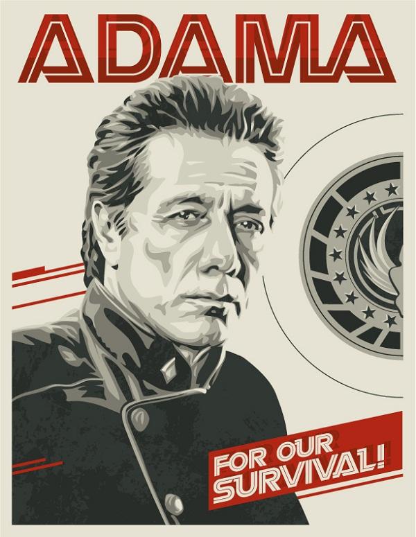 Battlestar Galactica Poster Art 02