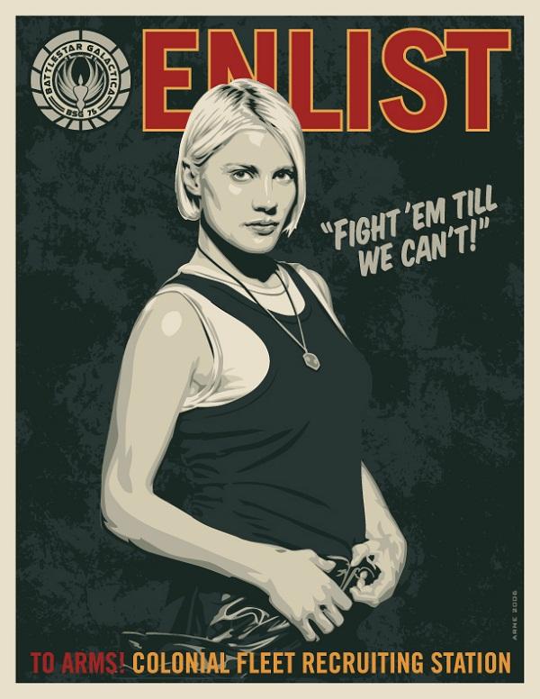 Battlestar Galactica Poster Art 03