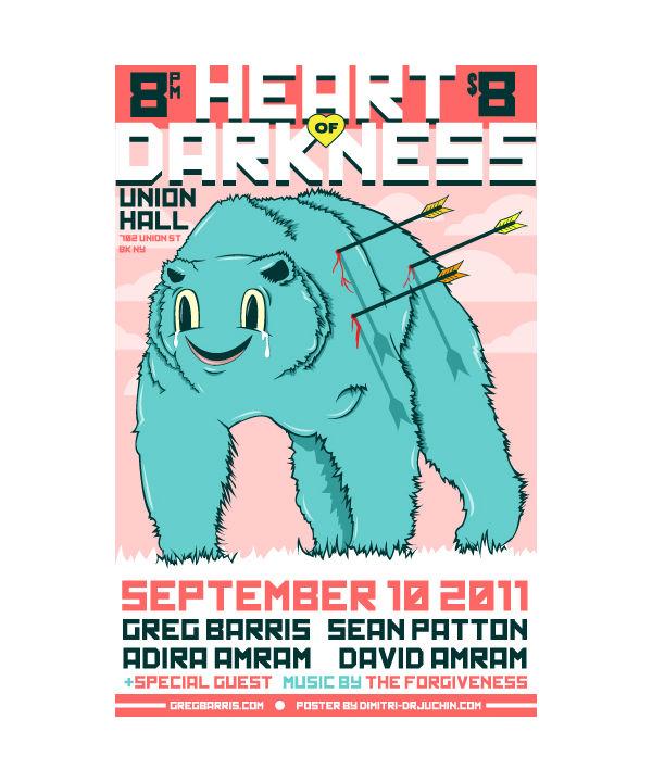 Dimitri Drjuchin Poster Art via YouTheDesigner.com