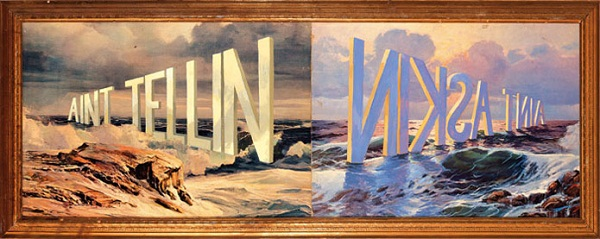Wyane White - Word Paintings via YouTheDesigner.com