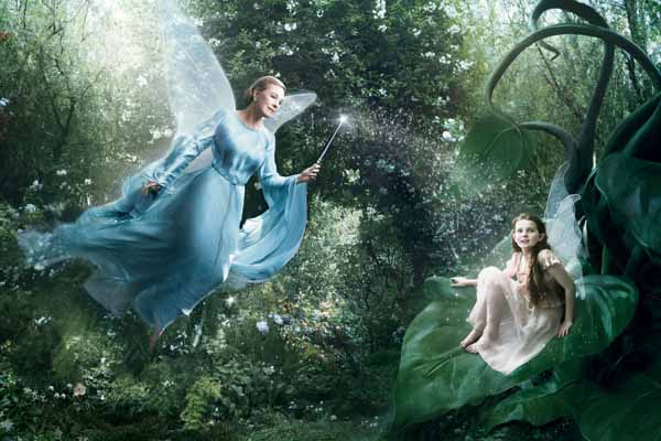 Annie Leibovitz - Disney, Fairies via YouTheDesigner.com