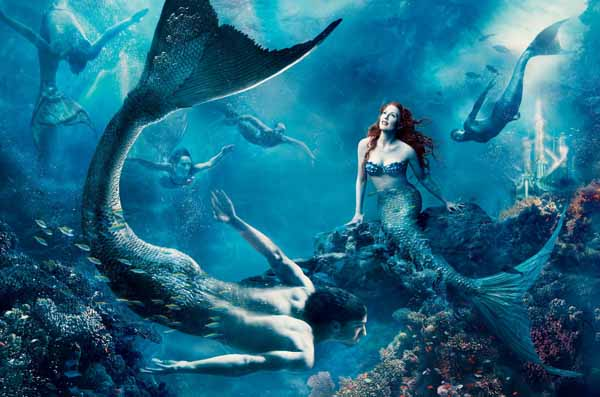 Annie Leibovitz - Disney, Little Mermaid via YouTheDesigner.com
