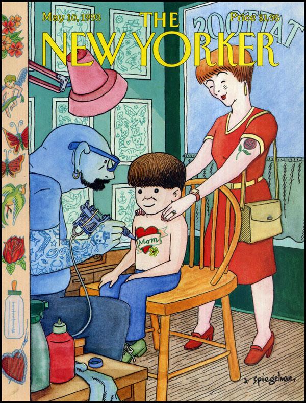 Art Spiegelman NY 05-10-1993 via YouTheDesigner.com