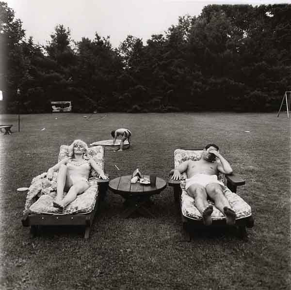 Diane Arbus - A Family on Their Lawn One Sunday in Westchester, N.Y. 1968 via YouTheDesigner.com