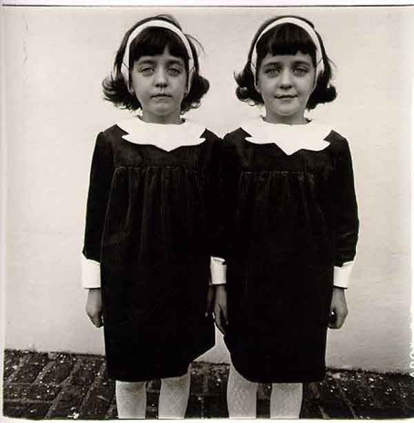 Diane Arbus - Identical Twins, Roselle, New Jersey, 1967 via YouTheDesigner.com