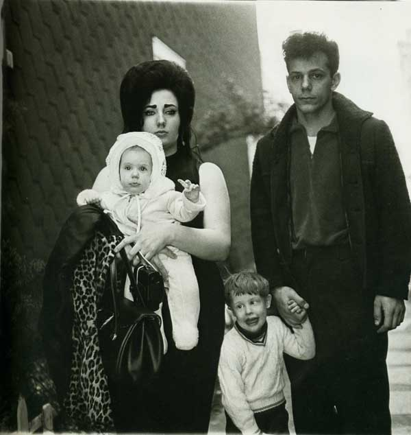 Diane Arbus - Young Brooklyn Family Going for Sunday Outing NYC 1966 via YouTheDesigner.com