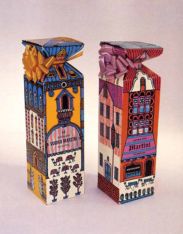 Giftboxes by Seymour Chwast via YouTheDesigner.com