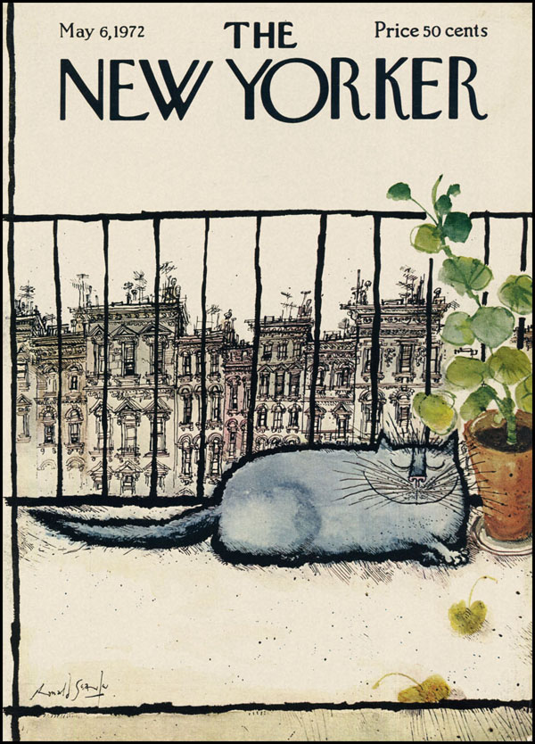 Ronald Searle NY 05-06-1972 via YouTheDesigner.com