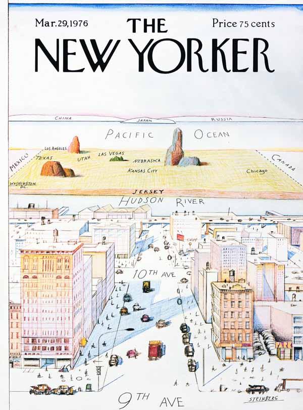 Saul Steinberg NY 03-29-1976 via YouTheDesigner.com