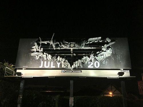The Dark Knight Rises Billboard featured in The Inspiration via YouTheDesigner.com