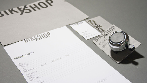 BIKE SHOP Branding Strategy by Line Otto via YouTheDesigner.com