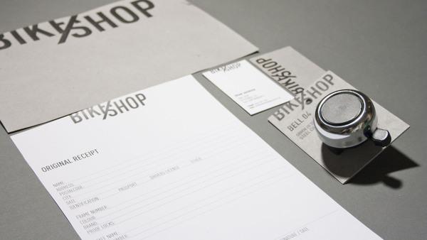 BIKE SHOP Branding Strategy by Line Otto via YouTheDesigner.com