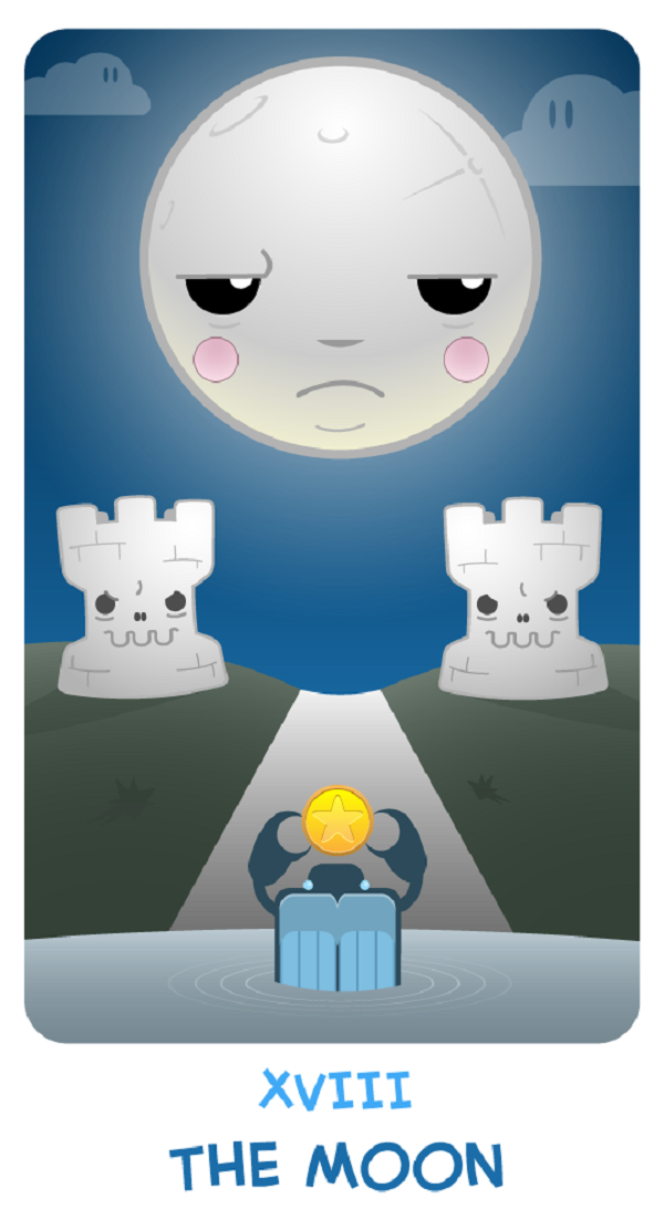 Chibi Tarot by Adam Bodgett via YouTheDesigner.com