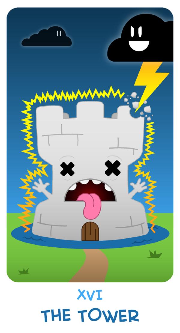 Chibi Tarot by Adam Bodgett via YouTheDesigner.com