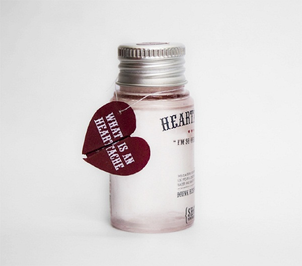 Emotional Remedy Packaging Design 03 by Beatrice Menis via YouTheDesigner.com