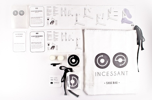 Incessant Shoes Packaging 03 by Jinah Lee via YouTheDesigner.com