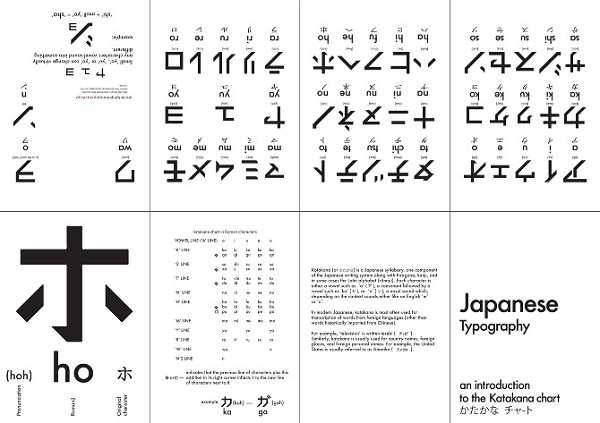 Japanese Type Specimen 01 by Josh Jaques via YouTheDesigner.com