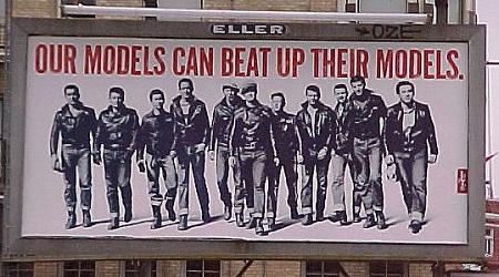 Vintage Levi's Billboard from Hotboots.com via YouTheDesigner.com