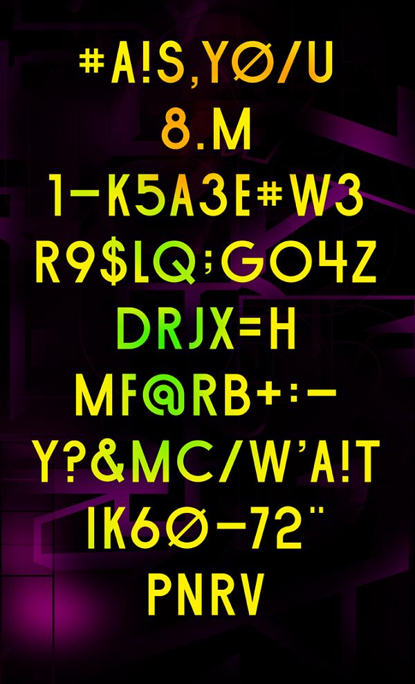 Munan Type Specimen 01 by Anton Pearson via YouTheDesigner.com