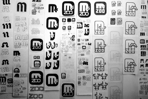 Minnesota Zoo Type and Wayfinding 01 by Lance Wyman via YouTheDesigner.com