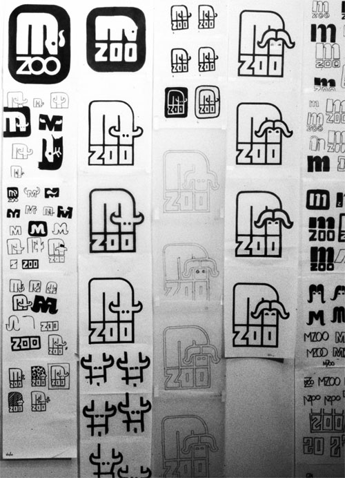 Minnesota Zoo Type and Wayfinding 02 by Lance Wyman via YouTheDesigner.com