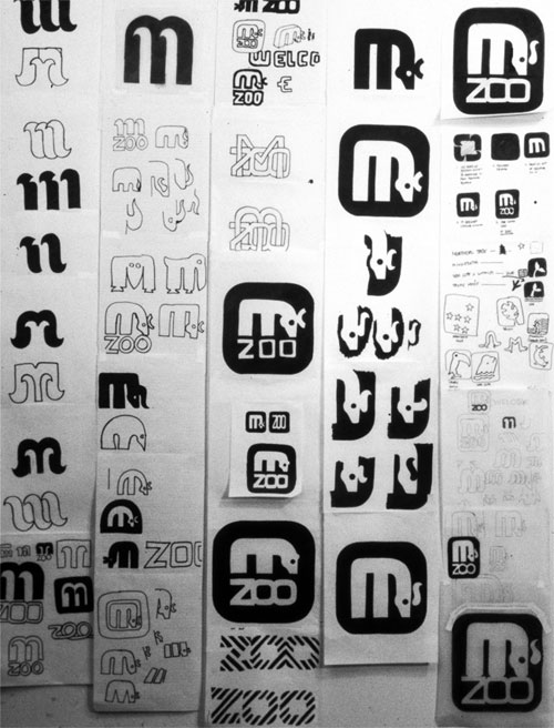 Minnesota Zoo Type and Wayfinding 03 by Lance Wyman via YouTheDesigner.com