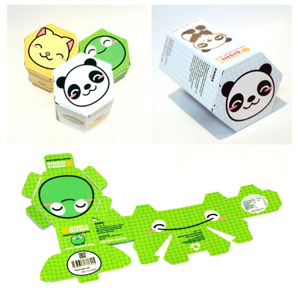 Packaging Design Project 01 by Marcela Silva via YouTheDesigner.com