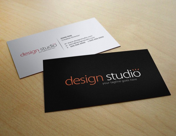 Ucreative How To Make A Business Card In Five Easy
