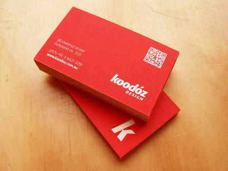 Koodoz business card