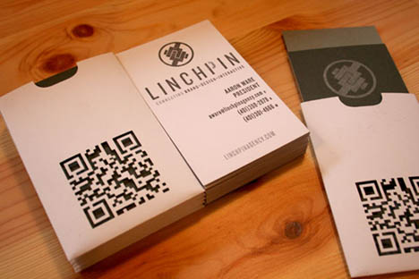 Linchpin business card
