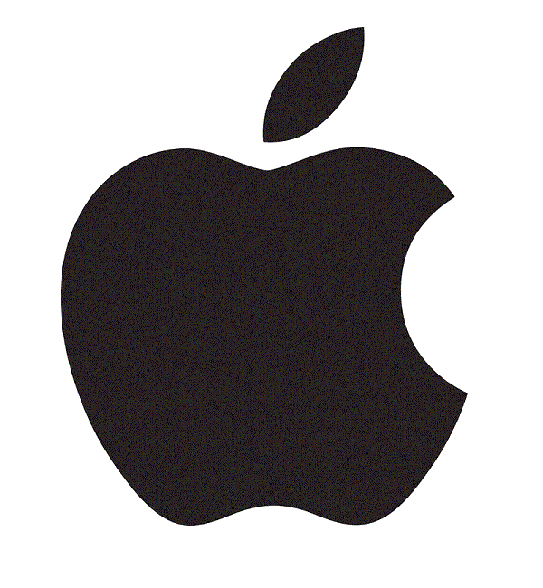 Apple Logo via YouTheDesigner.com
