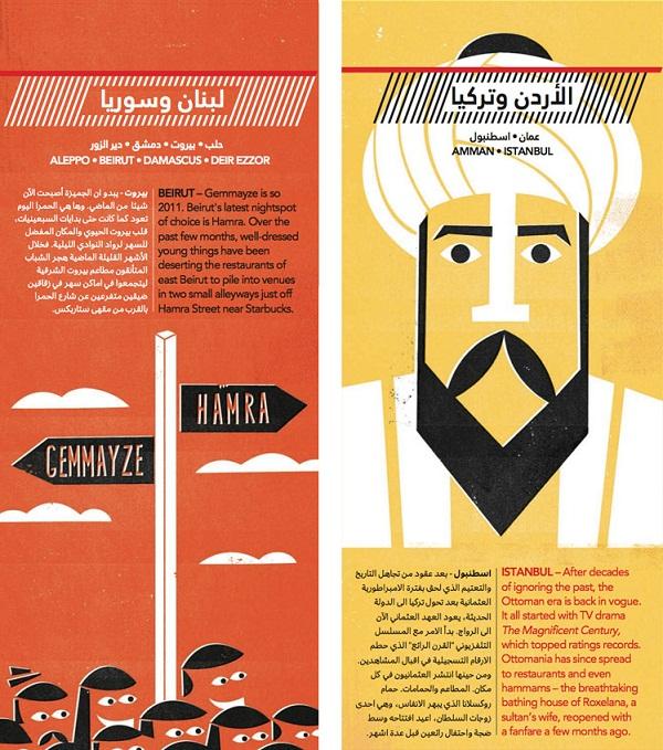Jazeera Magazine Page Design 02 by Dale Edwin Murray via YouTheDesigner.com