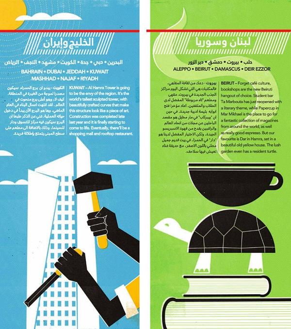 Jazeera Magazine Page Design 03 by Dale Edwin Murray via YouTheDesigner.com