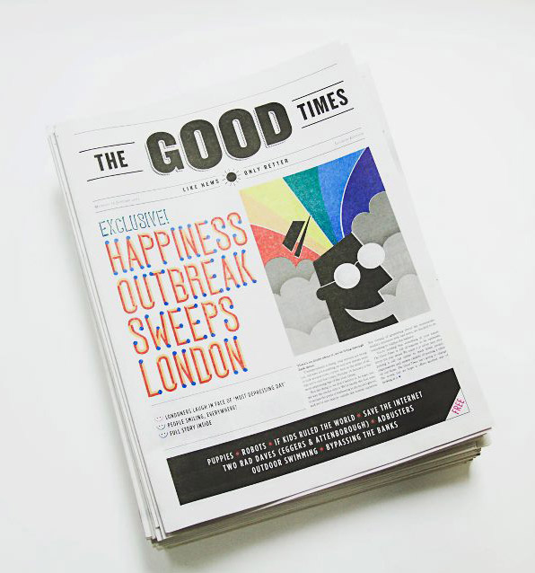 The Good Times Cover by Dale Edwin Murray via YouTheDesigner.com