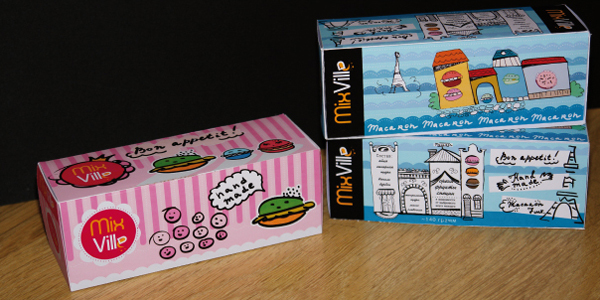 Illustration and Package Design for Sweets by Katya Tchv via YouTheDesigner.com