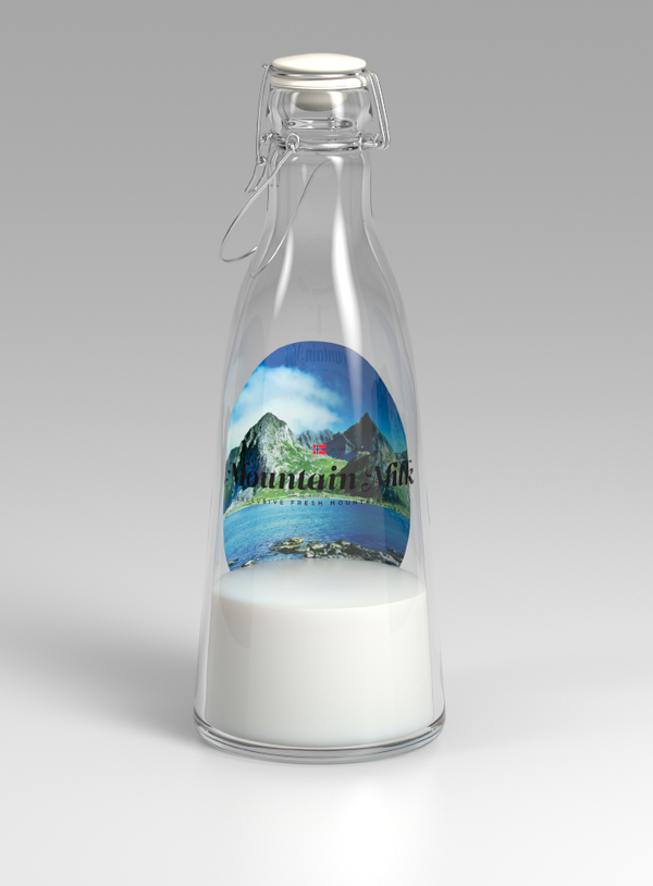 Tine Melk Packaging Design pt. 2 by Anders Drage via YouTheDesigner.com