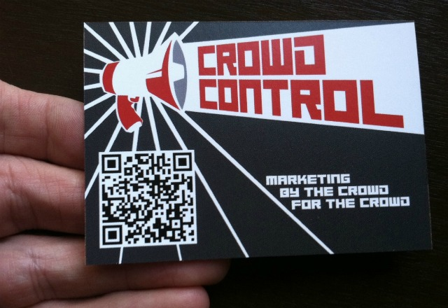 Crowd Control business card