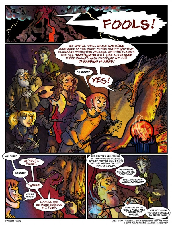 Guilded Age: Chapter 1 - Page 1 via YouTheDesigner