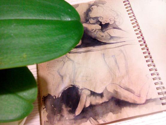 Sketchbook Illustrations by Lesya Nedzelskaya via YouTheDesigner.com