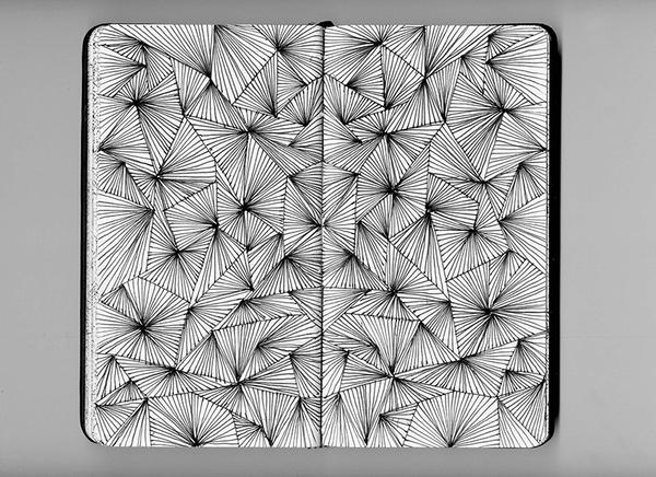 Sketchbook Illustration by Eniko Déri via YouTheDesigner