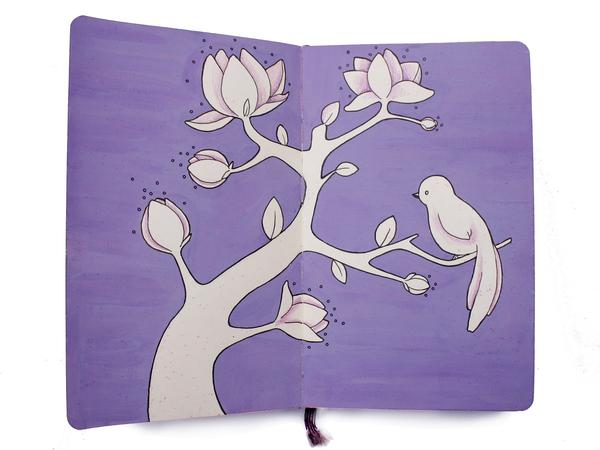 Sketchbook Illustration by Zlatina Gocheva via YouTheDesigner.com