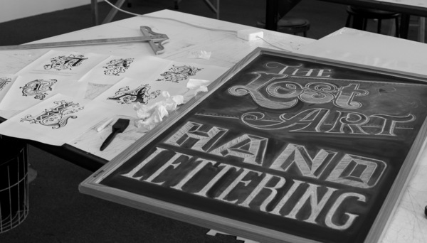 The Lost Art of Hand Lettering by Chris Yoon via YouTheDesigner
