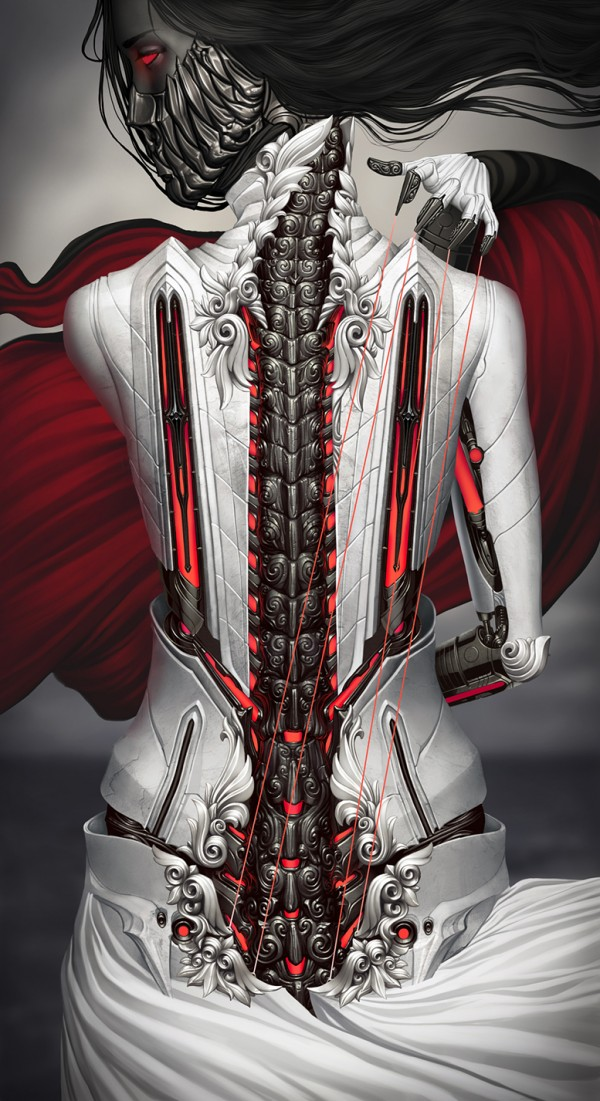 """Peisinoe"" - Digital Art by Alexander Fedosov via YouTheDesigner"