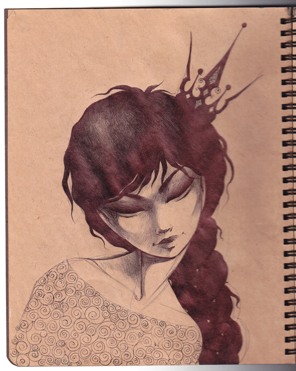 Sketchbook Illustrations by Lesya Nedzelskaya via YouTheDesigner.com