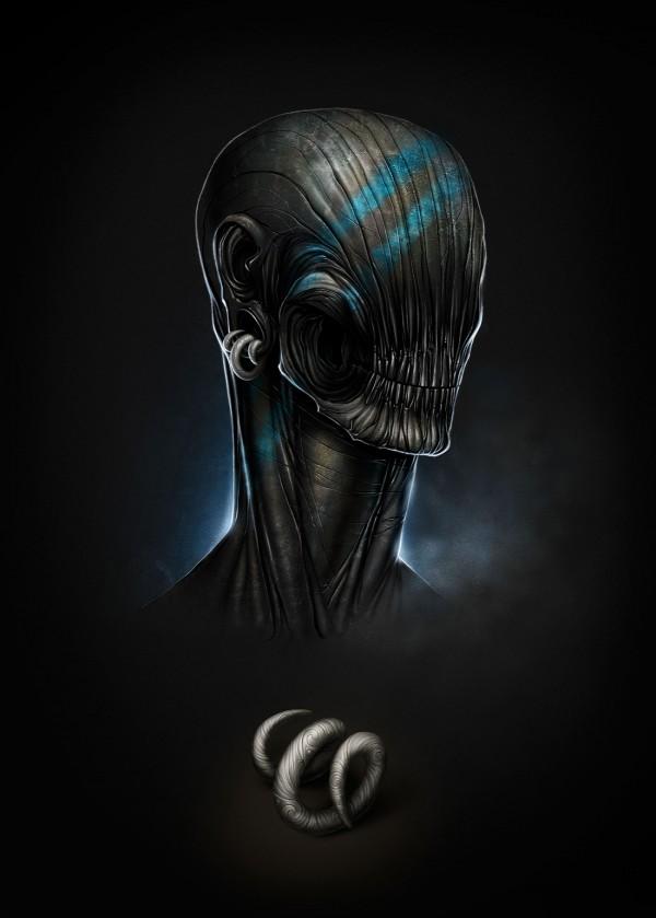 """Disciple"" - Digital Art by Alexander Fedosov via YouTheDesigner"